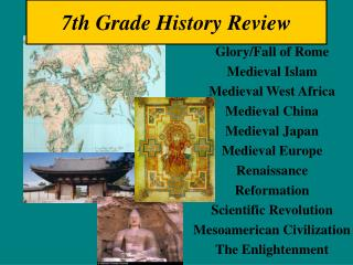 7th Grade History Review