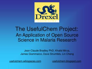 The UsefulChem Project: