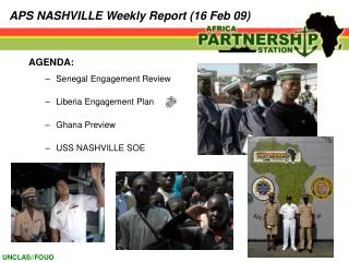 APS NASHVILLE Weekly Report (16 Feb 09)