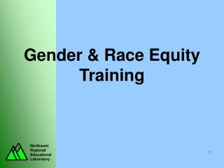 Gender & Race Equity Training
