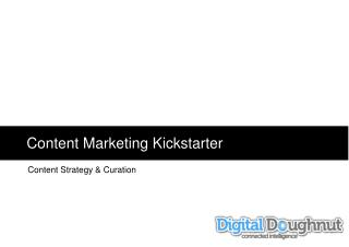 Content Marketing  Kickstarter