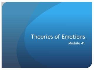 Two-factor theory of emotions
