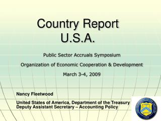 Country Report U.S.A.