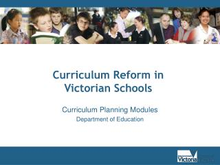 Curriculum Planning Modules Department of Education