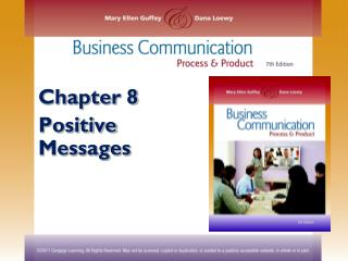Chapter 8 Positive Messages