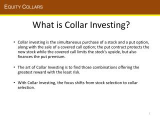 What is Collar Investing?