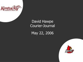 David Hawpe Courier-Journal