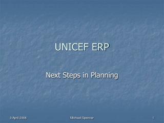 UNICEF ERP