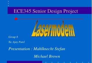 ECE345 Senior Design Project
