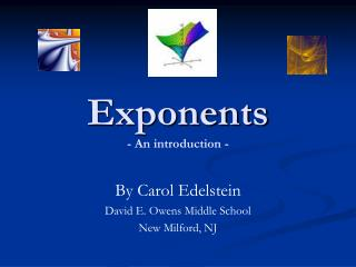 Exponents - An introduction -