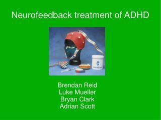 Neurofeedback treatment of ADHD