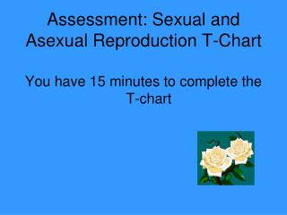 Assessment: Sexual and Asexual Reproduction T-Chart