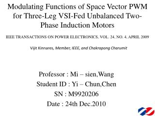 IEEE TRANSACTIONS ON POWER ELECTRONICS, VOL. 24, NO. 4, APRIL 2009