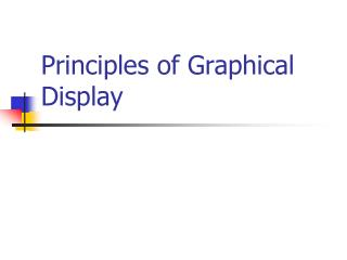 Principles of Graphical Display