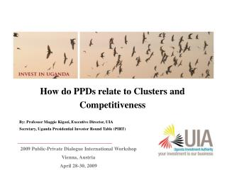 How do PPDs relate to Clusters and Competitiveness