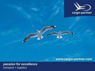 Air Cargo Sea Cargo ROAD-Xpress Intermodal Integrated Logistics Environmental cargo-partners