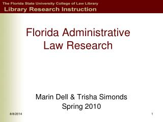 Florida Administrative Law Research