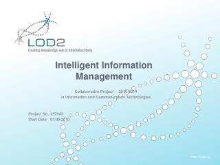 Intelligent Information Management