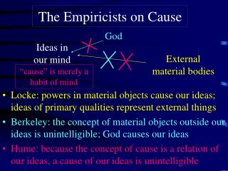 The Empiricists on Cause
