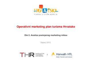 Operativni  marketing plan turizma Hrvatske