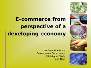E-commerce from perspective of a developing economy