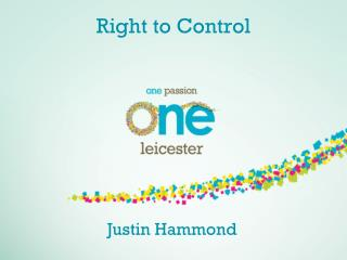 Right to Control