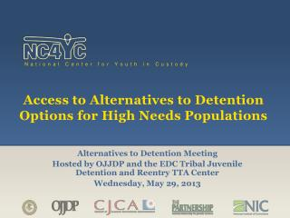 Access to Alternatives to Detention Options for High Needs Populations