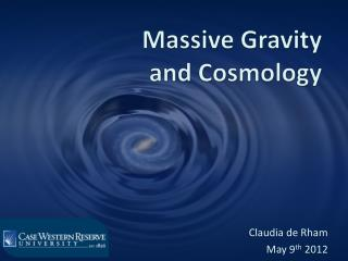 Massive Gravity  and Cosmology
