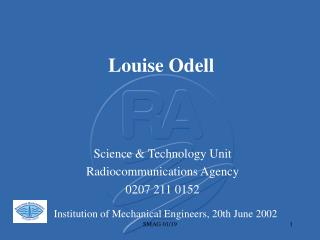 Louise Odell