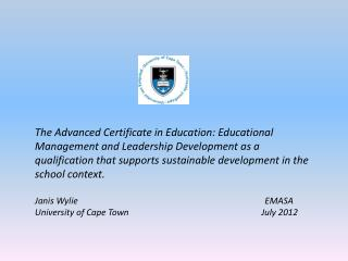 T he ACE EMLD Qualification