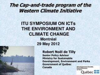 The Cap-and-trade program of the Western Climate Initiative