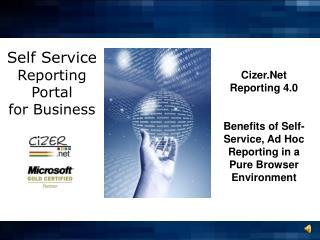 Self Service  Reporting Portal for Business