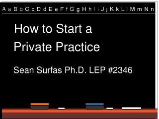 How to Start a