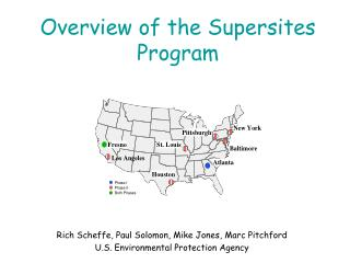 Overview of the Supersites Program