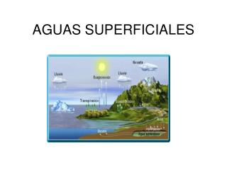 AGUAS SUPERFICIALES