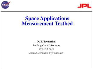 Space Applications  Measurement Testbed