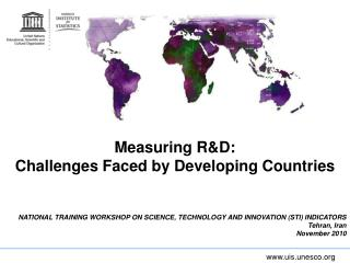 Measuring R&D:  Challenges Faced by Developing Countries