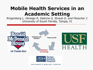 Mobile Health Services in an Academic Setting