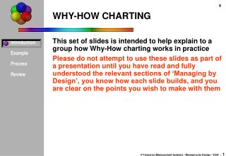 WHY-HOW CHARTING
