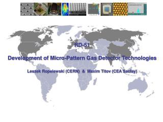 RD-51 Development of Micro-Pattern Gas Detector Technologies