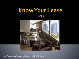 Know Your Lease (Part 2)