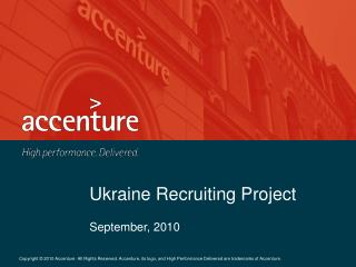 Ukraine Recruiting Project
