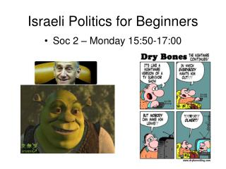 Israeli Politics for Beginners