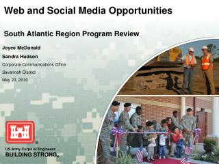 Web and Social Media Opportunities South Atlantic Region Program Review