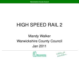 HIGH SPEED RAIL 2