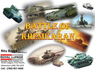 Battle of  Khemkaran