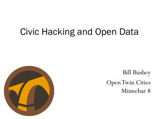Civic Hacking and Open Data