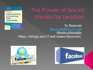 The Power of Social Media for Leaders