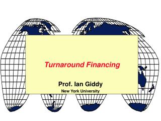 Turnaround Financing