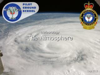 Meteorology The Atmosphere